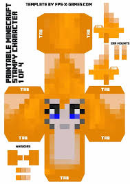 Stampy Cat Minecraft Coloring Pages Printable Character 1 Of 4 Large