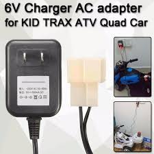 Wall Charger AC Adapter For 6V Battery Powered Kid TRAX ATV Quad ... Kidtrax 12v Dodge Ram 3500 Fire Engine With Detachable Water Gun 3 12ah Sla Replacement Battery For Kid Trax Truck Kt1003 Ram Dually 12volt Powered Ride On Black Toys R Us Canada Charger Kids Unboxing And Review Wiring Diagram 6v Caterpillar Tractor 6v Rescue Quad Rideon Walmartcom Big Toy Truck Car Electric Power Wheels Drive Masikini Disney Princess Ebay