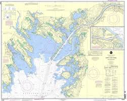 100 Boston Food Truck Map NOAA Nautical Chart 13236 Cape Cod Canal And Approaches Cape Cod