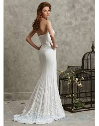 buy tailor made strapless satin ruffled sequined train white prom