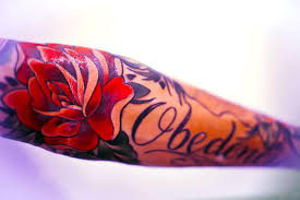 Cool Forearm Name Tattoo Idea