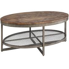 Shop Now Large Charlestown Metal And Wood Industrial Coffee Table