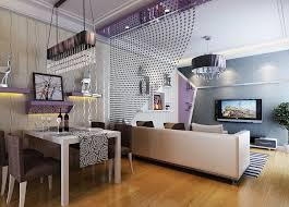 kleines wohnzimmer einrichten wohnungsgestaltung in lila
