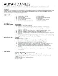 Part Time Resume Sample Job Example Basic Examples For Jobs Google Computer Science
