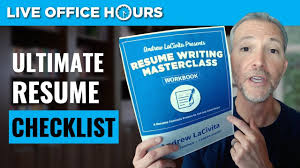 The Ultimate Resume Checklist: Live Office Hours With Andrew LaCivita Freetouse Online Resume Builder By Livecareer Awesome Live Careers Atclgrain Sample Caregiver Lcazuelasphilly Unique Livecareer Cover Letter Nanny Writing Guide 12 Mplate Samples Pdf View 30 Samples Of Rumes Industry Experience Level Test Analyst And Templates Visualcv Examples Real People Stagehand New One Page Leave Latter Music Cormac Bluestone Dear Sam Nolan Branding