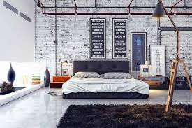 Home Touch With Brick Wall 1 10 Industrial Interiors Using Rustic