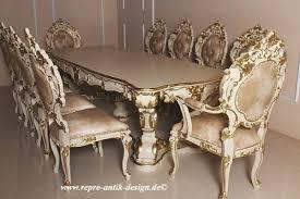 barock esszimmer garnitur venezianischer barock minerva menteng 1 tisch mit 10 stühlen