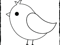 Coloring Page Of A Bird Baby New Cute Pages Free Birds Flying