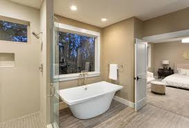 bathtub in the bedroom how to design an open concept bathroom