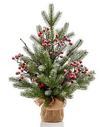 Martha Stewart Tabletop Tree With Berries Created For Macys