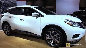 2015 Nissan Murano Platinum AWD Exterior and Interior Walkaround