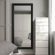 toftbyn spiegel schwarz 75x165 cm