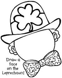 What Will Your St Patricks Day Leprechaun Look Like Complete The With This Coloring SheetsFree