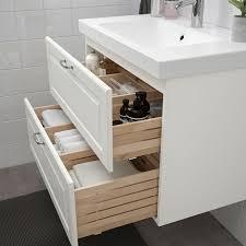 godmorgon sink cabinet with 2 drawers kasjön white 31 1