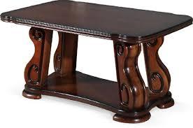 luxus couchtisch echtes holz holz beistell sofa wohnzimmer rustikal tische tisch