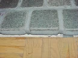 marble flooring over raised foundation wood subfloors tiling