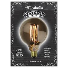 Kmart Halloween Decorations Australia by Mirabella Vintage Style Filament Bulb 25w E27 Edison