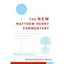 New Matthew Henry Commentary Hardcover