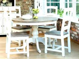 Round Farmhouse Table Set Lovely Dining Pics Mini St Home Furniture White Inspirational Chairs Kitchen And 6 X