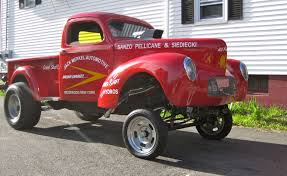 Jerry Augustine's 41 Willys Gasser Pick-up | Hotrod Hotline 57 Ford Ranchero Gasser Gasser Pinterest Cars And Rats 1966 Dodge D100 Pickup Sorry Its Not The Best Quality But Yes Those Are Tow Mirrors Wagon Scale Auto Magazine For Building Plastic Supercharged 1942 Willys Shows Up On Ebay Aoevolution 1320 Gassers Super Gas Modified Production Door 1940 Pickup Drag Machine Httpflickrcomphotos 50 Chevy Model Trucks This Fourspeed Big Block 1962 F100 Street Truck Is 1941 A Genuine Veteran Of Wars 3336 Agas Blown And Injected 392