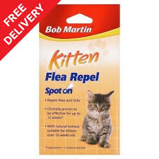 flea treatment for cats kitten spot on flea treatment bob martin vetcare