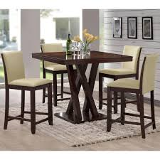 Everdon Dark Brown Pub/Bar Table | Products | Pub Table Sets ...