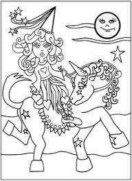 Princess Coloring Page From Dover Publications