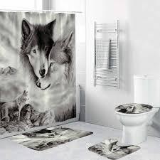 180x180cm 1pc 3pcs 4pcs weiß wolf traum catcher wolf augen