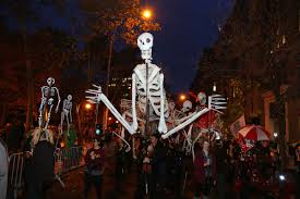 Greenwich Village Halloween Parade Thriller by The Scare Is Over 2013 Nyc Halloween Parade Will Go On After Last