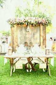 Decorating Wooden Rustic Wedding Table Decor Ideas Weddings Vintage Decoration Country Decorations Party