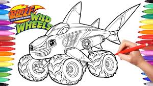 Blaze Moster Machines Wild Wheels | Shark Blaze Coloring Pages ... Stunning Idea Monster Truck Coloring Pages Spiderman Repair Police Truck Coloring Pages Trucks Of Fresh Color Best Free Maxd Page Printable Coloring Page How To Draw A 68861 Blaze Unique Top Image Monstertruck Bargain Sheets 2655 Max D For Kids Transportation Jam Page For Kids