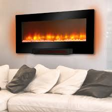 Decor Flame Infrared Electric Stove by Cameron Flat Panel Wall Pedestal Infrared Fireplace Hayneedle