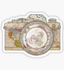 Travel Tumblr Stickers