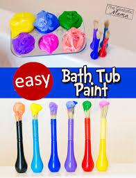 Bathtub Fingerpaint Soap Recipe by Homemade Bathtub Paint The Realistic Mama