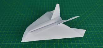 How To Make A Paper Airplane Stealth Fighter