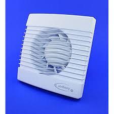 badventilator mit timer nachlauf badlüfter lüfter ventilator deckenlüfter weiß front ø 100 mm 10 cm primts wandlüfter ventilator einbaulüfter bad