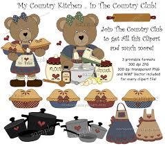 Country Kitchen Clipart By Clipground
