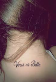 Neck Tattoos French Youarebeautiful 736x552 Vous