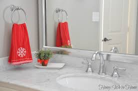 Pink Mercury Glass Bathroom Accessories by Target Holiday Accessories In The Bathroom Honey We U0027re Home