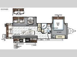 Raptor 5th Wheel Toy Hauler Floor Plans by Flagstaff Classic Super Lite Travel Trailer Rv Sales 10 Floorplans