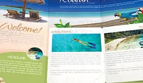 Tourism Brochure Sample Actual Brochure Tourism Brochure Designs