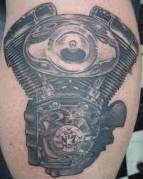 Harley Davidson Engine Tattoo Hd Nate Rogers By Zeek911