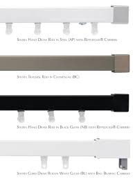 Kirsch Decorative Traverse Curtain Rods by Traverse Drapery Rods U Design Blog