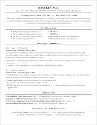 Building Maintenance Resume Sample For Technician Engineer Samples
