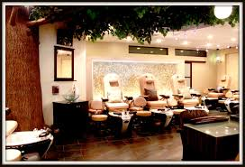 Salon Decor Ideas Images by Brentwood Gardens Adds A High End Nail Salon To Their Priveleged