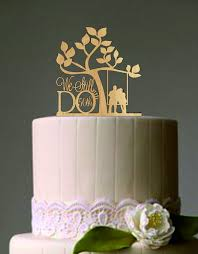 Unique Design Anniversary Cake Toppers Fancy Plush 50 Th Vow Renewal Or Topper We Still Do