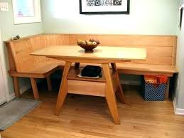 Dining Table Bench Seat Corner Kitchen Tables With Full Image For