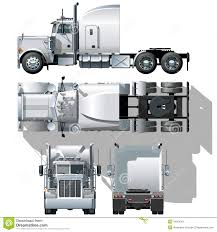 Vector Hi-detailed Semi-truck Stock Vector - Illustration Of ... Semi Truck Outline Drawing Vector Squad Blog Semi Truck Outline On White Background Stock Art Svg Filetruck Cutting Templatevector Clip For American Semitruck Photo Illustration Image 2035445 Stockunlimited Black And White Orangiausa At Getdrawingscom Free Personal Use Cartoon Transport Dump Stock Vector Of Business Cstruction Red Big Rig Cab Lazttweet Clkercom Clip Art Online Trailers Transportation Goods