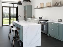 comptoir de quartz silestone granite au sommet