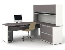 Ameriwood Dover Desk Federal White by Staples Writing Desk